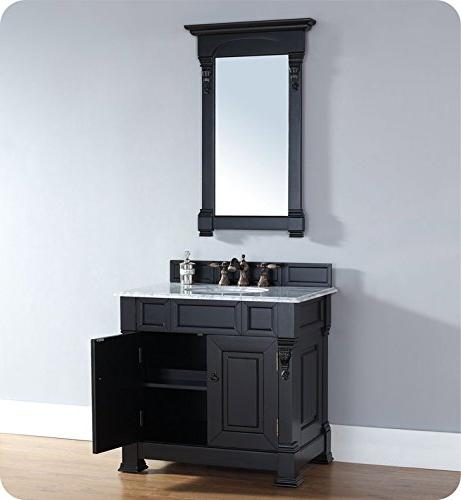 James 800469 36 in. Vanity with Snow