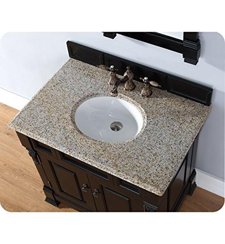 James Furniture 36 in. Single Vanity 3 Snow White