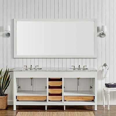 Eviva Aberdeen Transitional Double Sink White