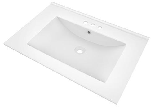 American Top Faucet, White