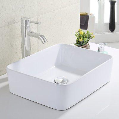 KES Bathroom Rectangular Vessel