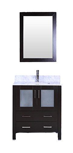 "Bosconi Bathroom Vanities 30"" Classic Single Vanity With Ova"
