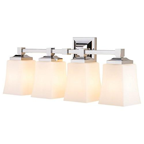Brighton Vanity Fixture w/Frosted Glass Liara LL-WL240-4-PC