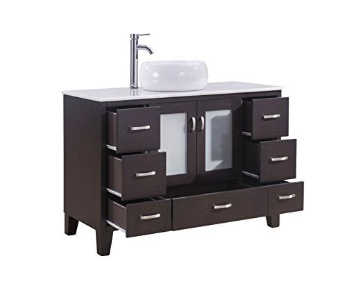 Chinese Inc 46-Inch Contemporary Style Bathroom Vanity Model