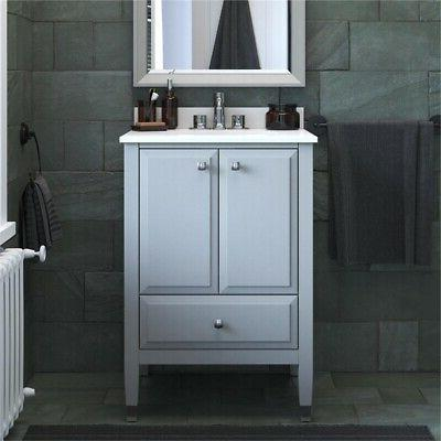Dorel 24 Inch Bathroom with Sink in