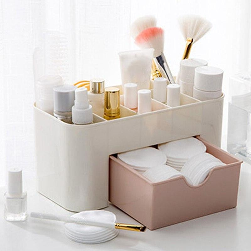 <font><b>Vanity</b></font> 6 with Drawer Cosmetic Storage for Home <font><b>Vanities</b></font> <font><b>Bathroom</b></font> Counter-top