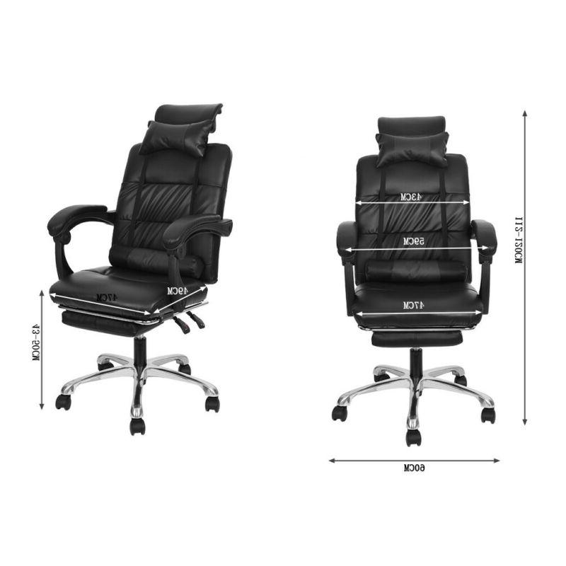 Gaming Chair High-Back Adjustable PU Leather Office