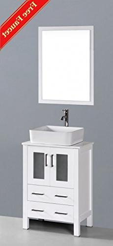 "24"" Bosconi GAW124RC Single Vanity"