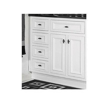 JSI Danbury Vanity Base Wood 2 3