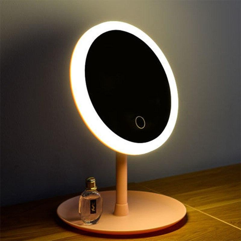 Led Light Makeup Touch Mirror USB Professional Mirrors