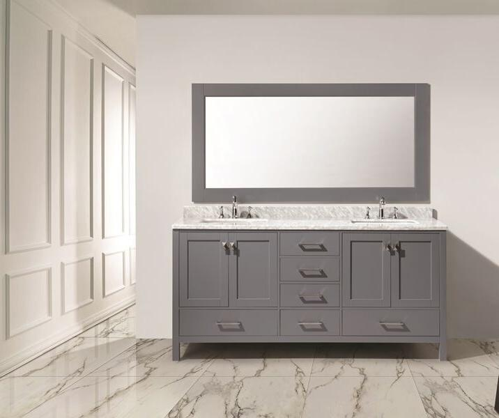 london hyde double 72 inch gray modern