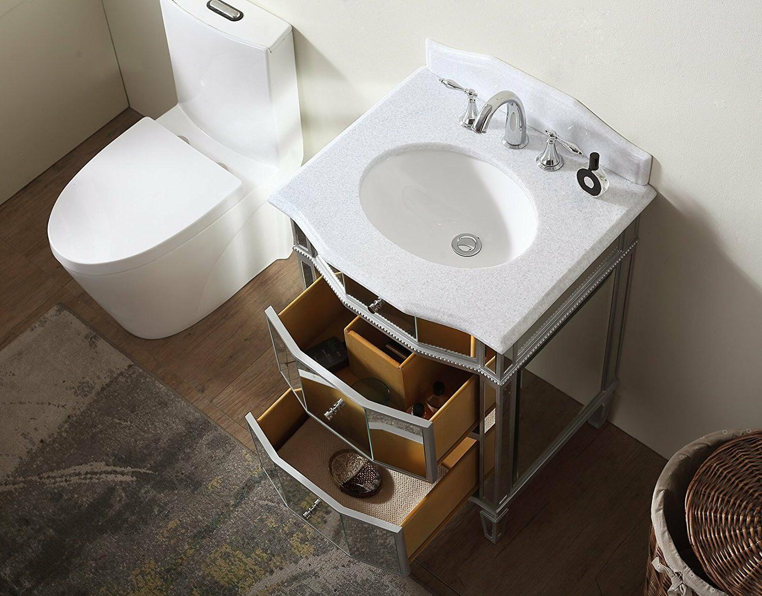 """24"""" Collection Mirrored Sink Vanity - HF006"""