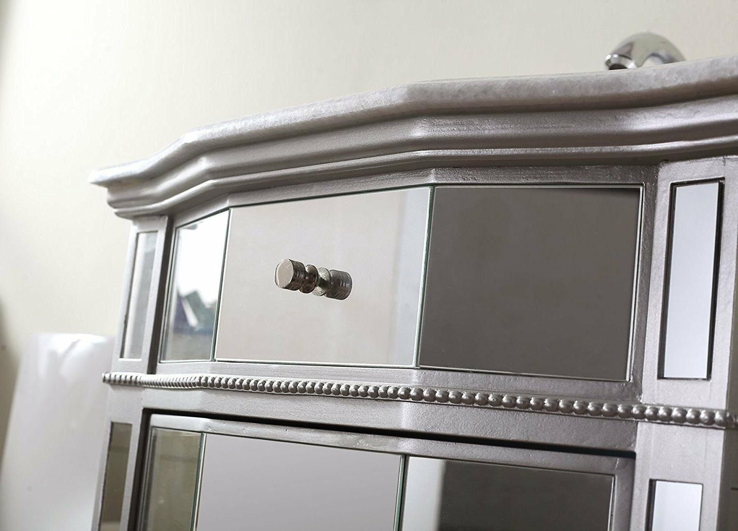 """24"""" Collection All Mirrored Vanity # HF006"""
