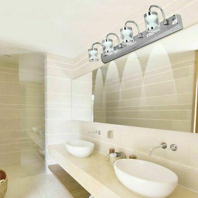 Modern LED Crystal Mirror Light Front Wall Lamp