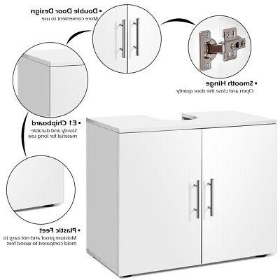 Non Pedestal Sink Bathroom Space Saver Organizer