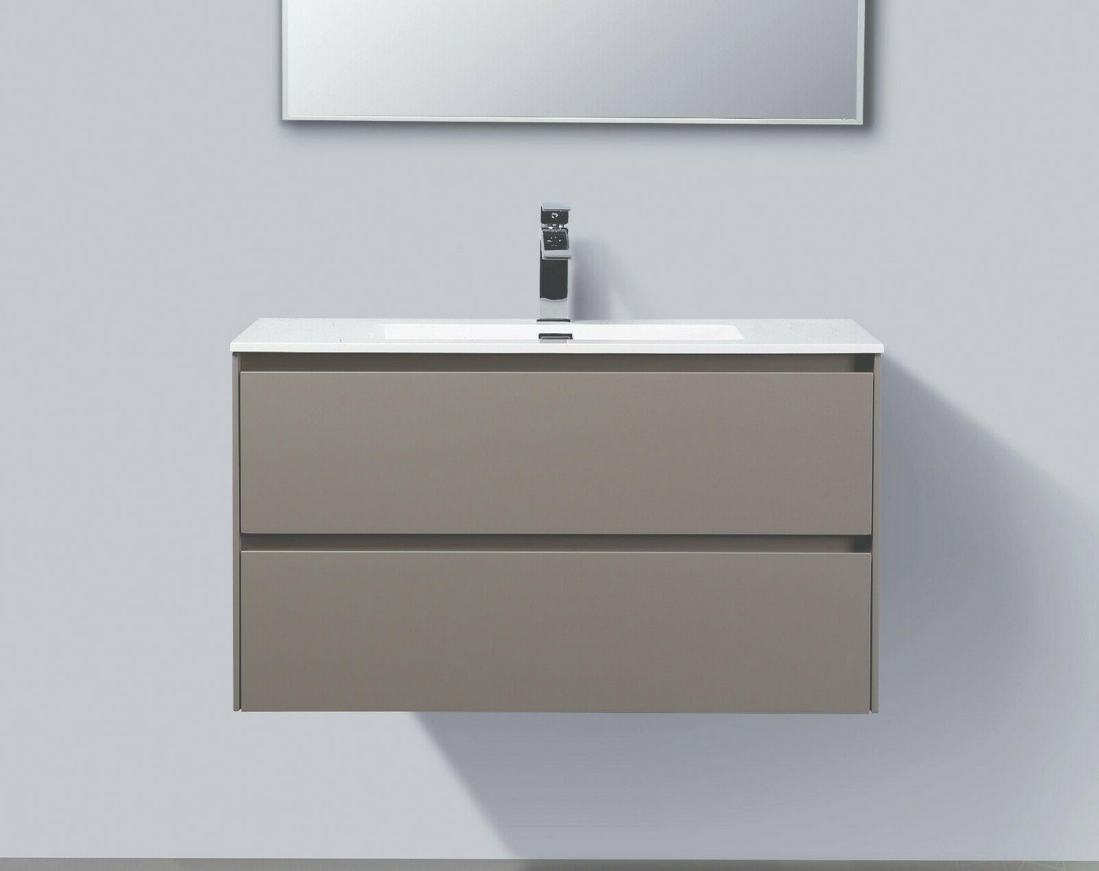 ---ALMA-SLICE 36″ FLOATING VANITY SINK