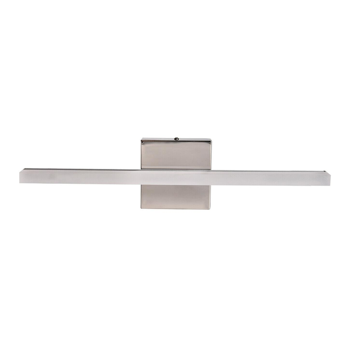 Stainless Light Lamp Front Mirror Fixture White