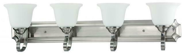 Sunset F16064-80 Etched Vanity Light Fixture