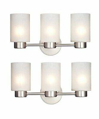sylvestre 3 light interior wall fixture frosted