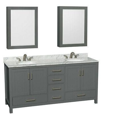 wcs141472dunomed sheffield 72 freestanding grey