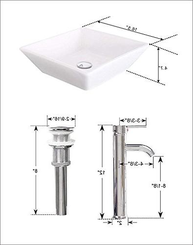 "Homecart 36"" Vanity Top Sink Faucet and"