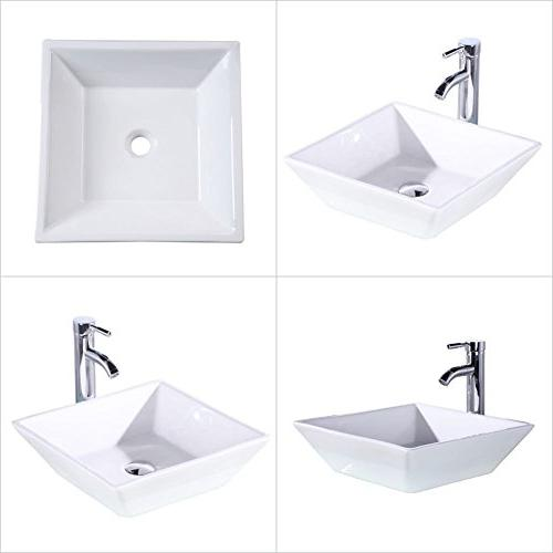 "Homecart 36"" Vanity Top Sink Faucet"