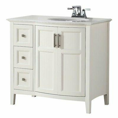 winston bath vanity rounded front