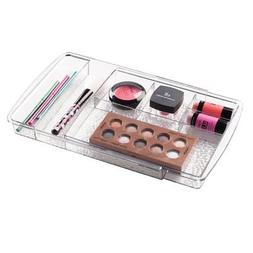 mDesign Expandable Cosmetic Drawer Organizer for Vanity Cabi