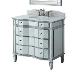 "36"" Mirrored Bathroom Sink Vanity - Model # BWV-025/36 Ashle"