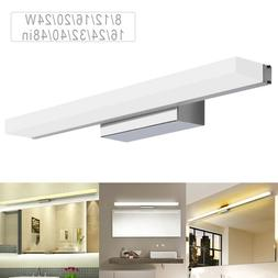 Modern Bathroom Vanity Light Stainless Steel Mirror Front Ma