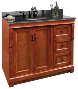Foremost Naples 36'' Bathroom Vanity Base with Left Drawers-