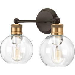 Progress Lighting P300050-020 Hansford Antique Bronze Two-Li