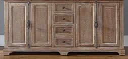 "James Martin Providence 72"" Double Bathroom Vanity in Driftw"