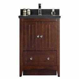 American Imaginations Shaker Design 23.5W Single Sink Bathro