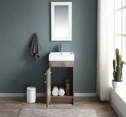 Single Sink Bowl Bathroom Vanity With Top Guest Bath Apartme