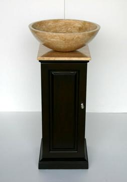 stone sink bowl vessel vanity