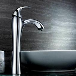 Stylish Bathroom Vanity Vessel Sink Faucet One Hole Single L