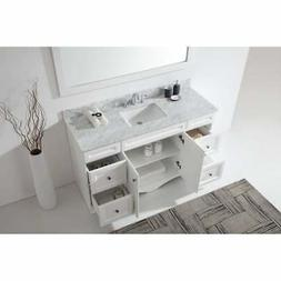 Virtu USA Talisa 60-inch Single Vanity Cabinet Only - Solid