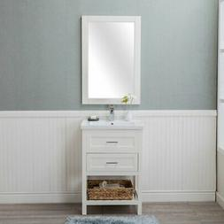 vineland he103dr24 single bathroom vanity