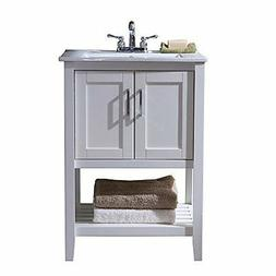 "Legion Furniture WLF6020-W Sink Vanity, 24"", White"