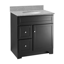 Foremost WREA3021D Worthington 30-Inch Espresso Bathroom Van