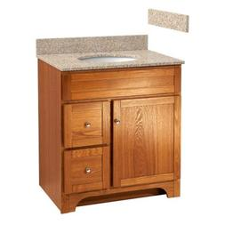 Foremost WROAT3021D-8W  Worthington 30-Inch Oak Bathroom Van