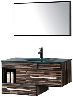 Legion Furniture WTH9032 Sink Vanity With Mirror and Without