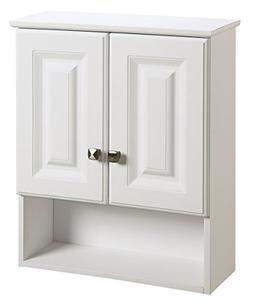 Wyndham 21 x 26 Double Door Bathroom Wall Cabinet